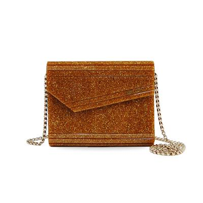 candy clutch bags brown